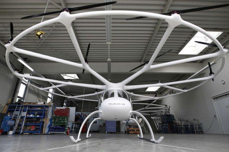 Geely berinvestasi di Volocopter dalam bisnis mobil terbang