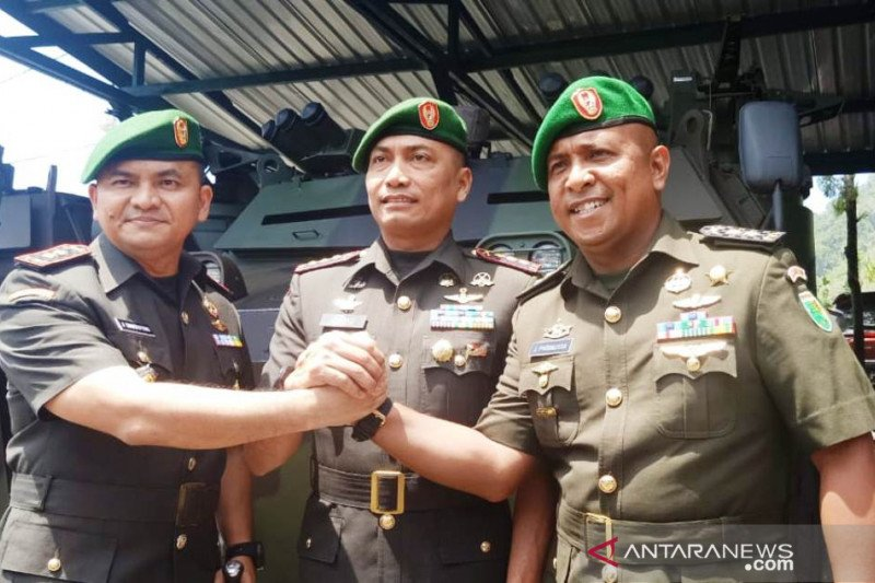 Letkol Inf Jerry Simatupang jabat Dandim Jayapura