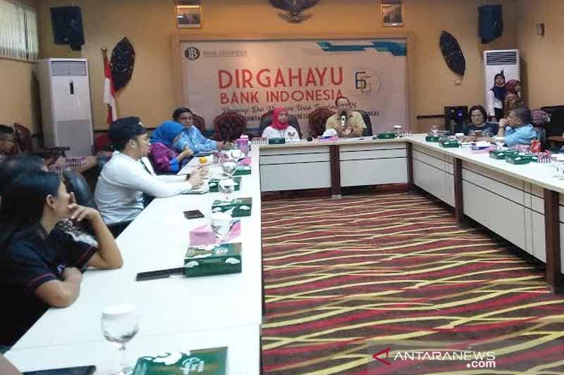 BI mencatat konsumsi masyarakat Kalteng turun selama Agustus 2019