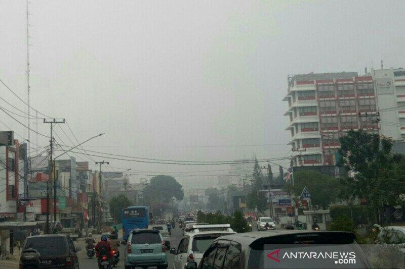 BMKG: Asap dominasi cuaca di Kota Palembang