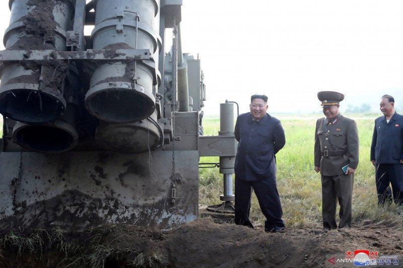 Korut tembakkan dua proyektil yang diduga rudal balistik arah Semenanjung Korea