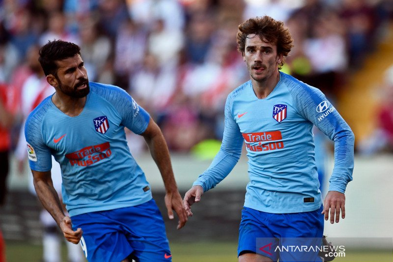 Kepergian Griezmann nyeberang ke Barcelona di mata Diego Costa