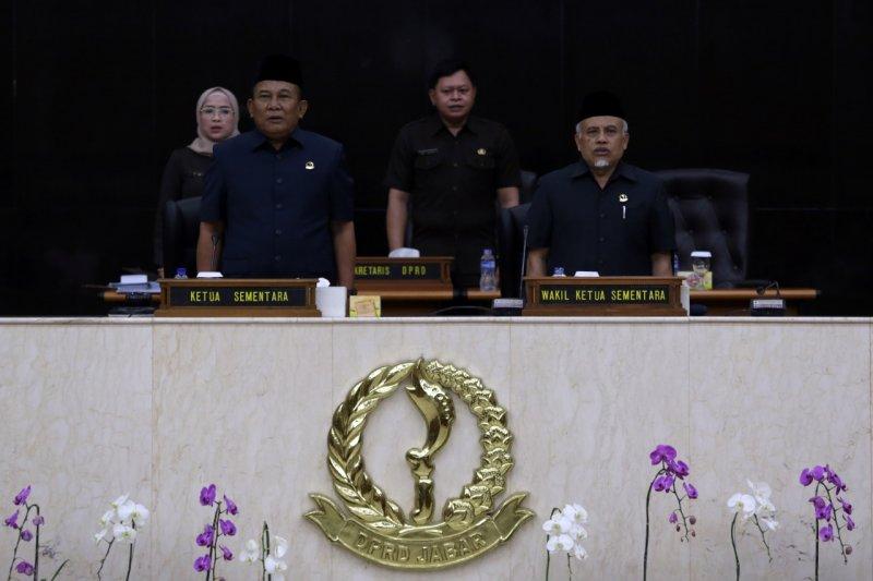 Tok, DPRD Jawa Barat umumkan susunan delapan fraksi