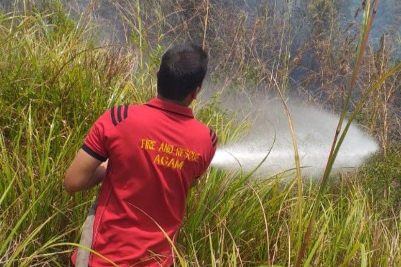 Seluas 25 hektare lahan terbakar di Agam selama 2019