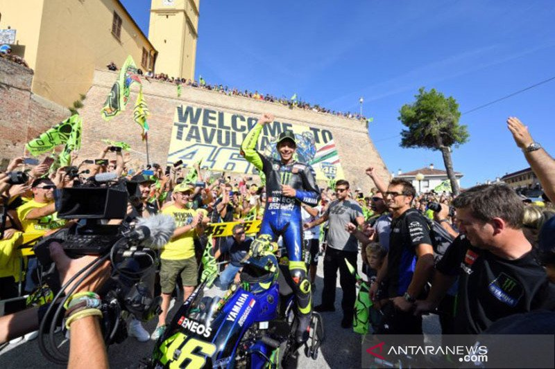 Penyelenggara bakal datangkan pembalap Valentino Rossi di GP Mandalika 2021