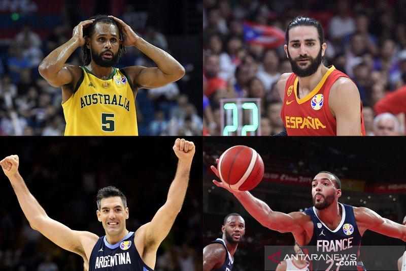 Piala Dunia FIBA 2019: Australia tantang Spanyol, Prancis hadapi Argentina