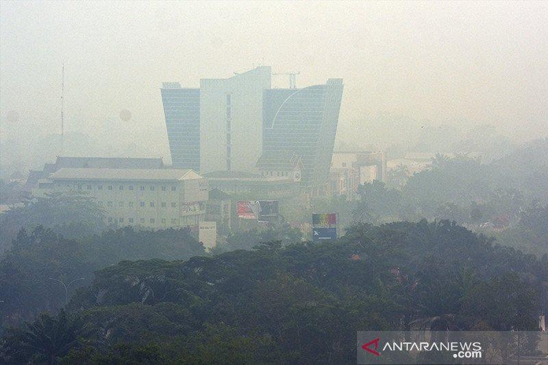 Akibat polusi asap Karhutla 39.277 warga Riau menderita ISPA