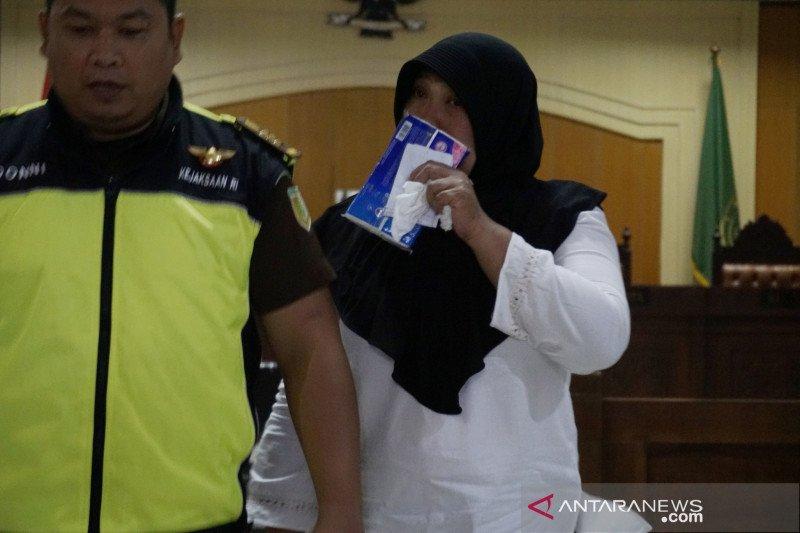 Terdakwa Kompol Tuti Maryati dituntut 3 tahun penjara terkait pungli di rutan Polda NTB