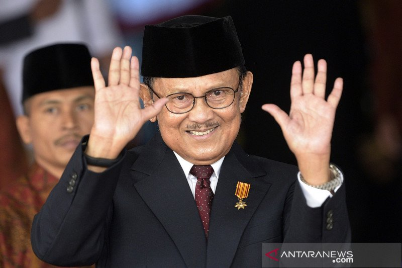President Jokowi to lead BJ Habibie's funeral procession