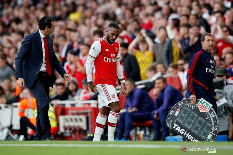 Lacazette cedera, Arsenal terancam mandul