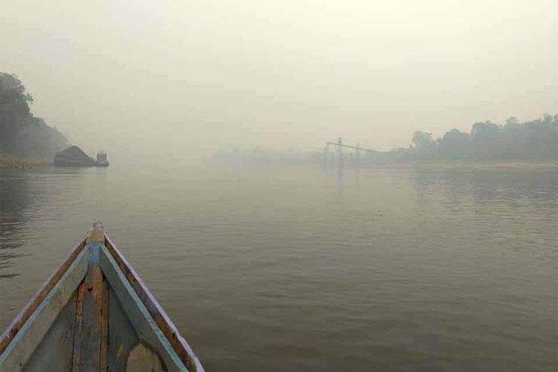 Kabut asap pekat,sekolah di Barito Utara diliburkan