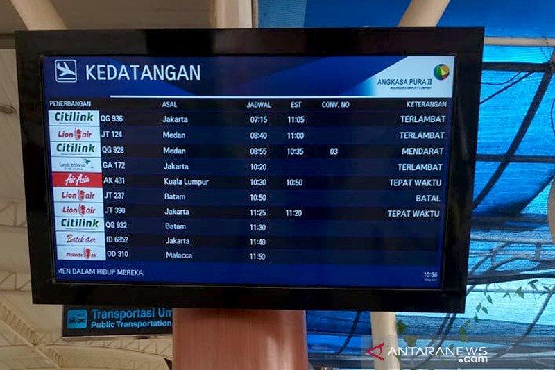 Kabut asap mulai ganggu penerbangan di Pekanbaru