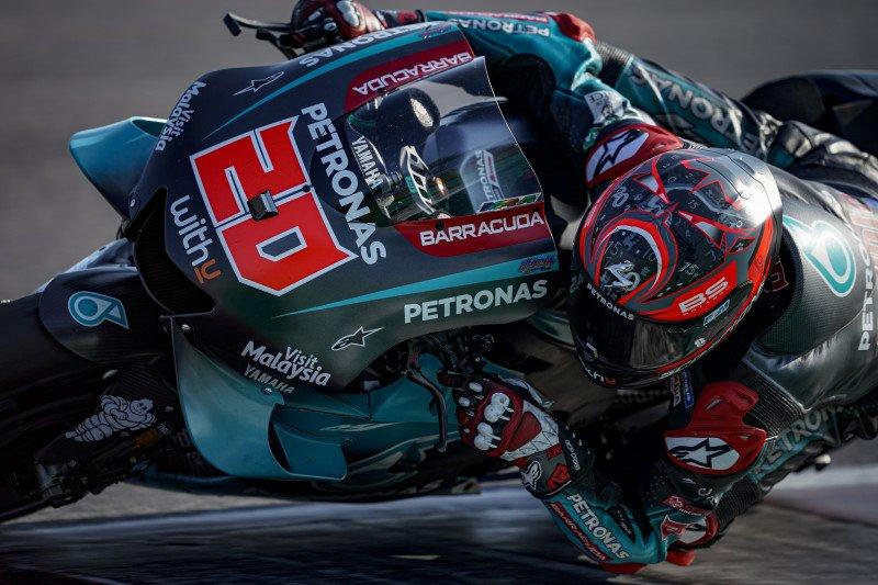 Quartararo ungguli Marquez  di FP1 GP San Marino