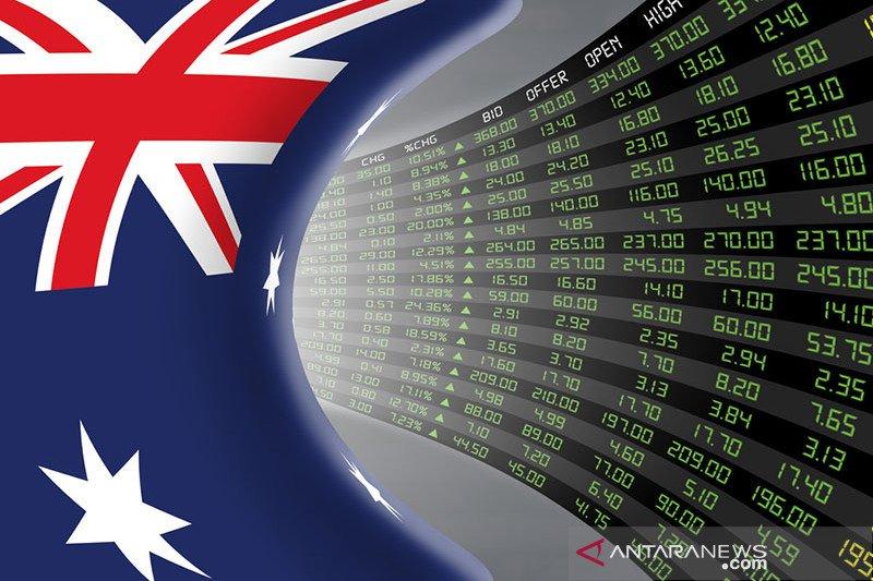 Saham Aussie berakhir lebih rendah, dan indeks ASX 200 melemah 0,58 persen