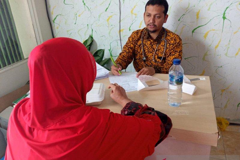 Warga Kuranji dapat pemeriksaan Jantung gratis Dari Fakultas Kedokteran Unand