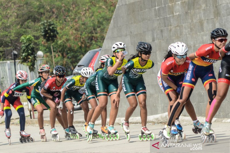 Roller skate athletes participating in the Pariaman Open national championship began to arrive
