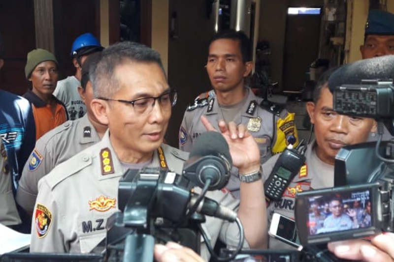 Polda Jateng perbaiki rumah korban ledakan gudang Brimob