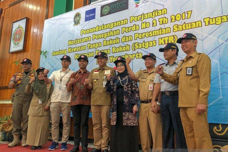 Penegakan Perda Kawasan Tanpa Rokok di Yogyakarta dilengkapi perangkat satgas