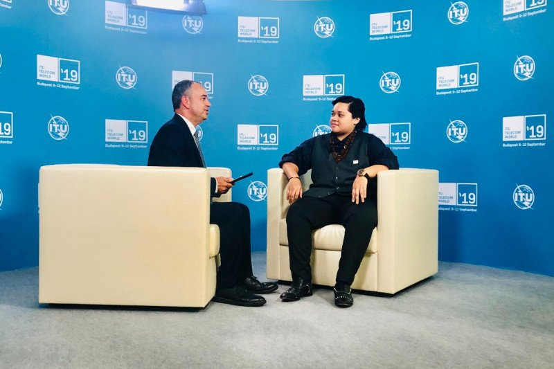 Bahaso wakili Indonesia diajang ITU Telecom World 2019