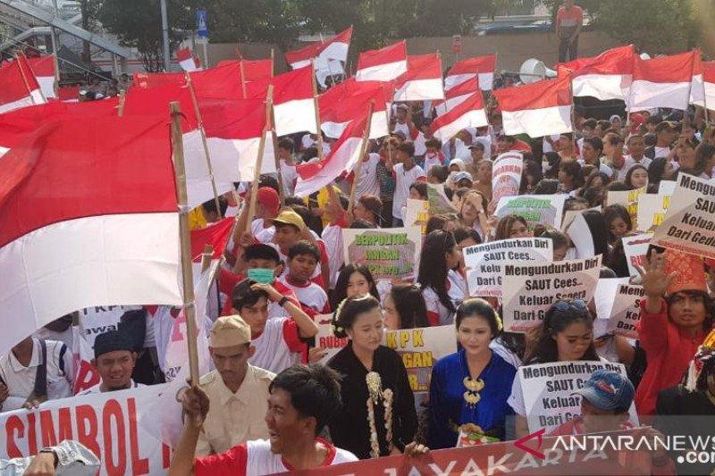 Hari ini, penentuan pemberantasan korupsi di Indonesia