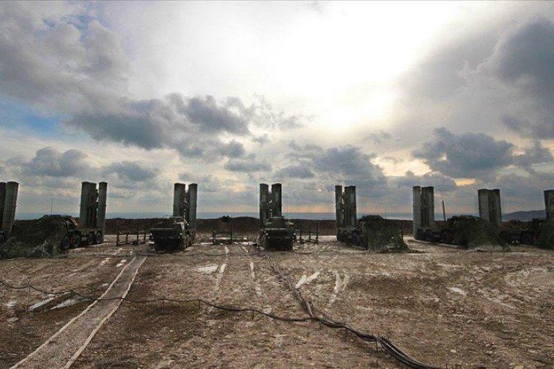 Turki uji coba sistem rudal S-400 buatan Rusia