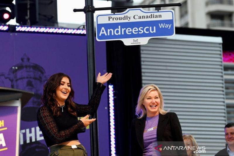Andreescu dijadikan nama jalan di Kanada