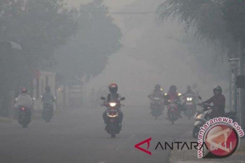 Karhutla Aceh - Kabut asap di Aceh bukan berasal dari Riau