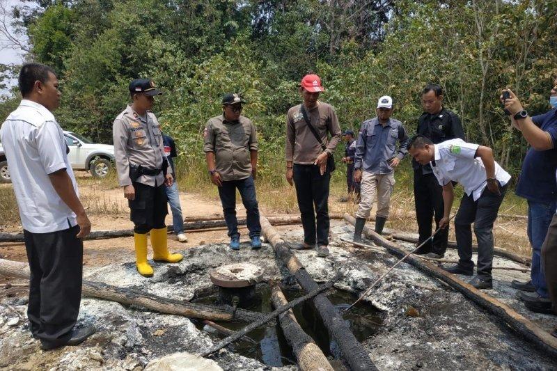 Ratusan sumur minyak liar ditemukan di Kabupaten Musi Banyuasin