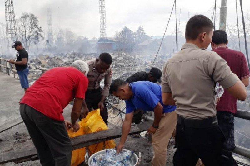 Polisi: Tiga orang korban luka-luka akibat kebakaran di Asmat