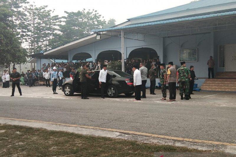 Jokowi dijadwalkan terjun langsung ke lokasi karhutla