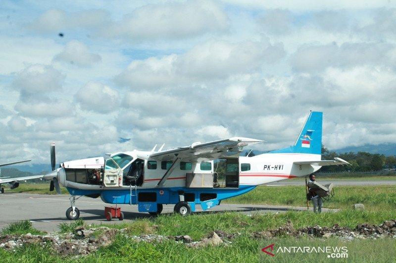 Pemerintah hentikan penerbangan ke dua tempat di Papua karena masalah keamanan