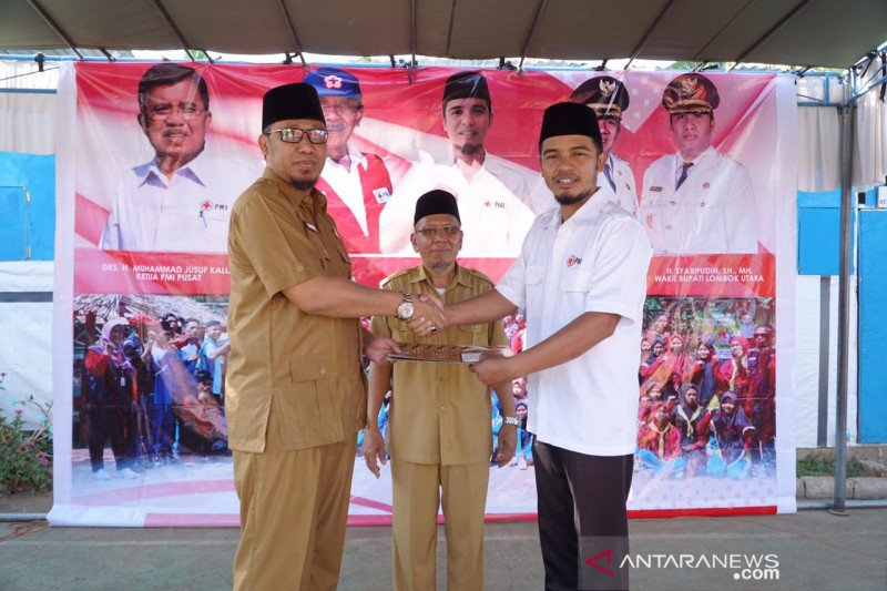 Wakil Bupati Lombok Utara apresiasi kontribusi PMI pascagempa