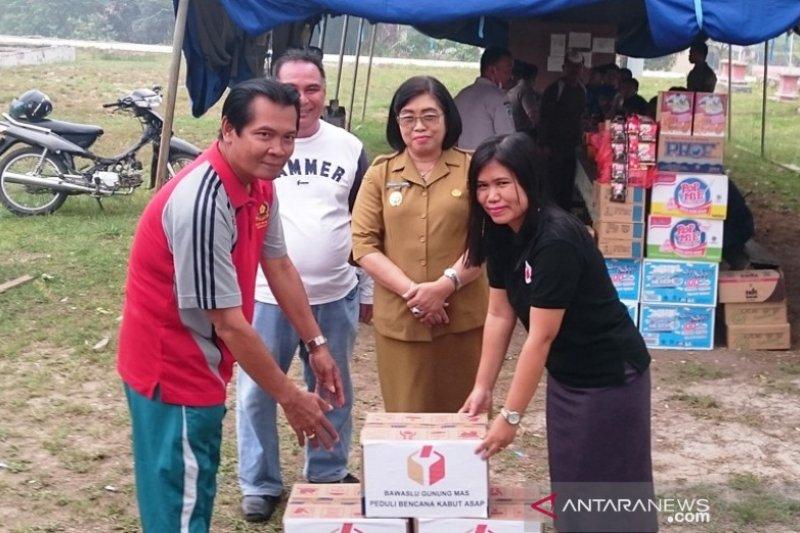 Dukungan mengalir pada Posko Siaga Darurat Karhutla Gumas