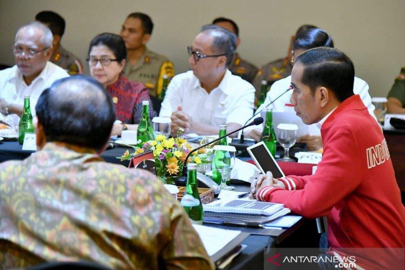 Jokowi: Pemerintah sudah lakukan segala upaya atasi karhutla