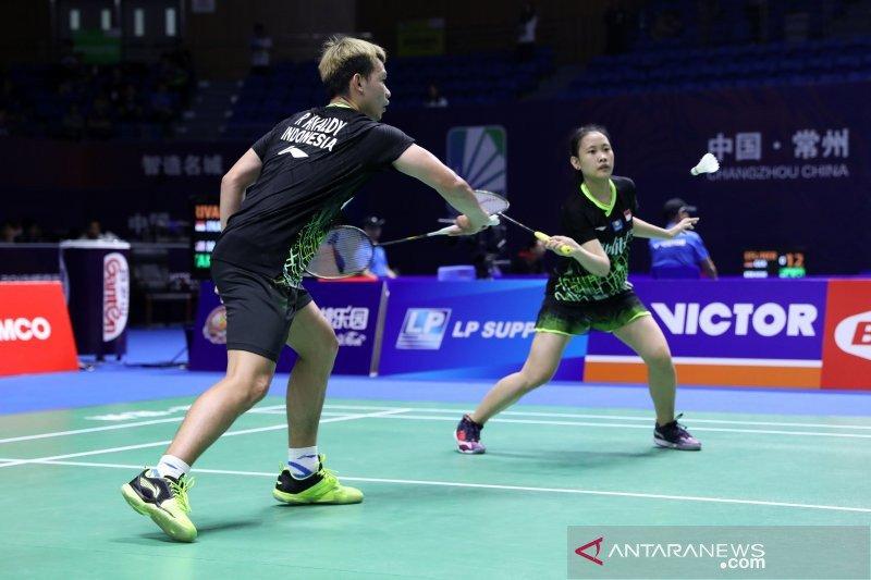Rinov/Pitha tumbang dari pemain Korsel di babak kedua China Open
