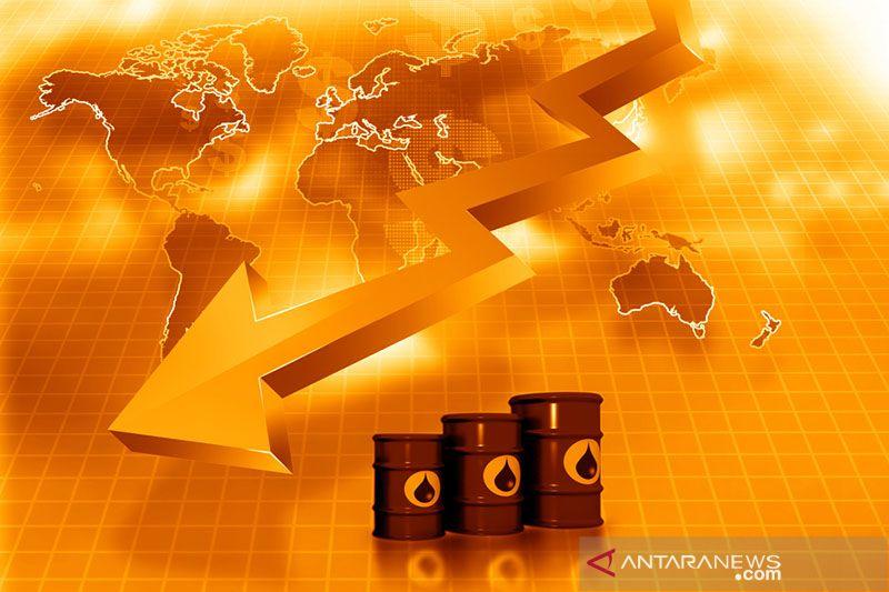 Harga minyak jatuh akibat wabah Corona