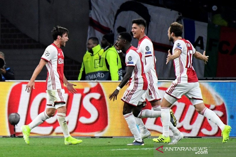Ajax tekuk Lille tiga gol tanpa balas