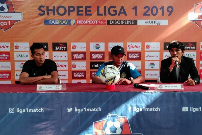 Pelatih Tira Persikabo : kami tidak terkecoh absennya pilar PSM