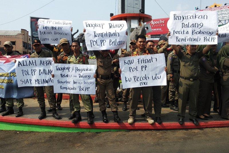 Polisi Pamong Praja Bandarlampung bantah tuduhan bongkar masjid
