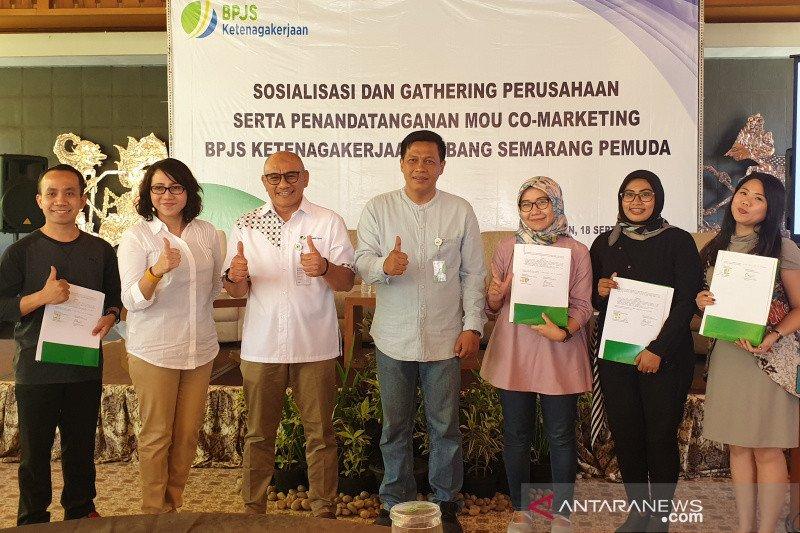 BPJS Ketenagakerjaan Cabang Semarang Pemuda tingkatkan co-marketing