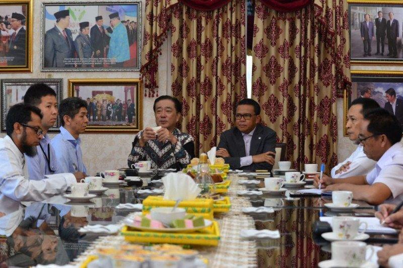 Gubernur Sulsel-Konsul Jepang bahas pemenuhan listrik di pulau