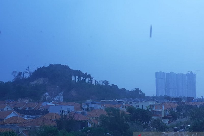 Kabut asap mulai ganggu penerbangan di Hang Nadim