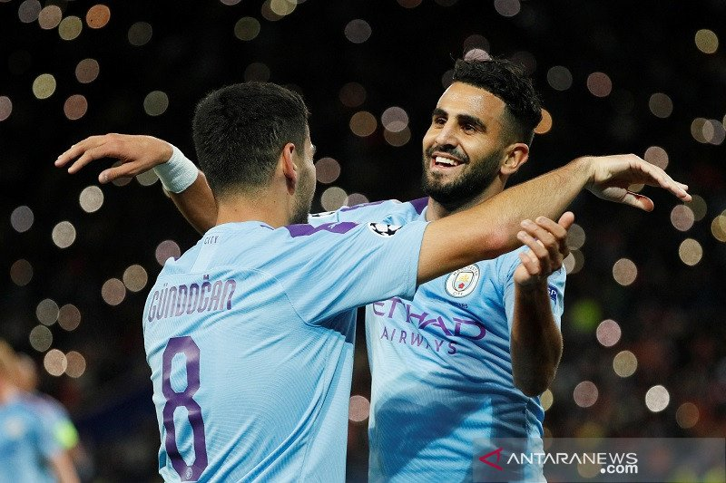 Liga Champions -- Man City menang mudah di kandang Shakhtar