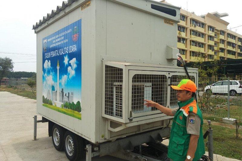 Jumat pagi, udara Jakarta tidak sehat bagi kelompok sensitif