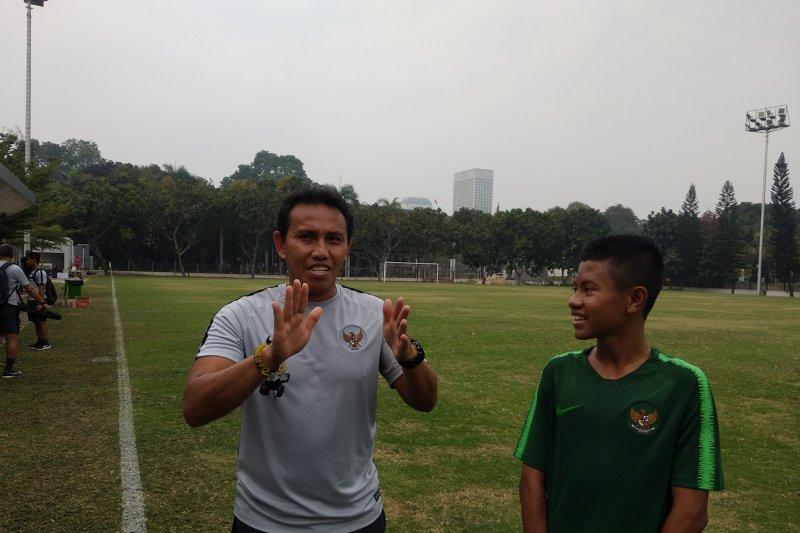 Bima Sakti isyaratkan akan rotasi pemain lawan Brunei