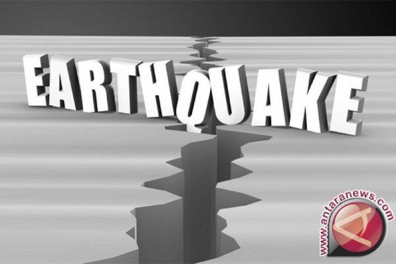 Gempa bermagnitudo 4,8 guncang Timur Laut Bitung-Sulut