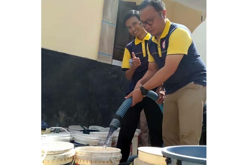 IDI Banjarnegara salurkan bantuan air bersih 225.000 liter