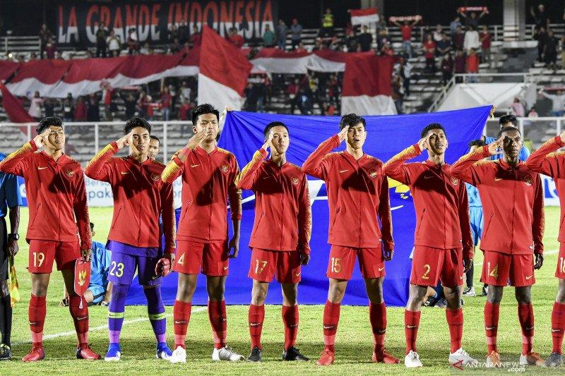 Kualifikasi Piala Asia U-16, babak pertama Indonesia vs China berakhir tanpa gol