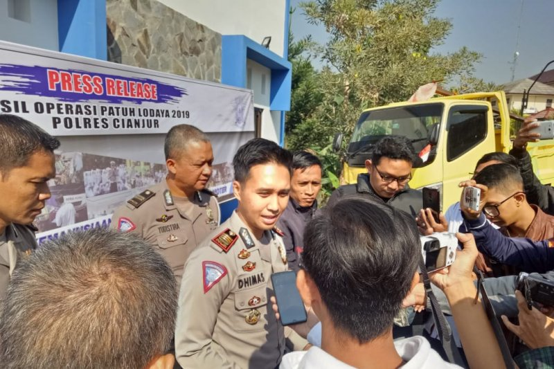 Pelanggaran lalu lintas di Cianjur naik 200 persen