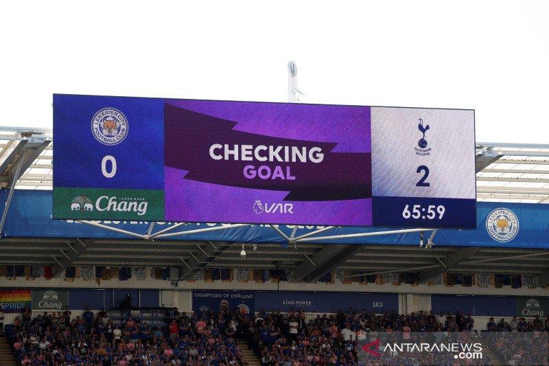 Dua gol Tottenham dianulir, hingga telan kekalahan dari Leicester 1-2